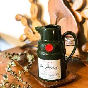 Vintage Tanqueray Ceramic Cocktail Pitcher